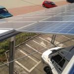 Arcole VR - impianto fotovoltaico integrato su pensilina