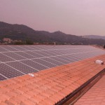 Brendola VI - impianto fotovoltaico integrato su edificio commerciale