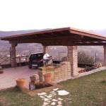 Brendola VI - Impianto fotovoltaico integrato su pompeiana